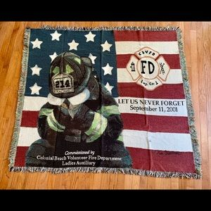 Other - 9/11 Commemorative Blanket